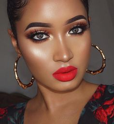 Full Face Makeup Looks - Makeup and Beauty Guides for Women Flawless Makeup, Glam Makeup, Gorgeous Makeup, Sexy Makeup, Pretty Eye Makeup, Flawless Beauty, Asian Makeup, Crazy Makeup, Dark Skin Makeup