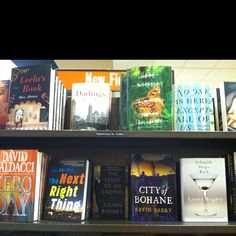 Spotted: City of Bohane by Kevin Barry // Barnes & Noble, Roseville, MN // March 15, 2012