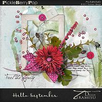 Hello September ~ elements pack by Tiramisu design
