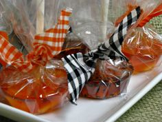 Homemade Halloween Candy Bags | Oh, and the candy corn ones look particularly great when stood upside ...