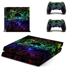 Video Game Accessories Sensible Ps4 Pro Console Skin Decal Anime Corpse Party Vinyl Skin Sticker Wrap Controller Big Clearance Sale Faceplates, Decals & Stickers