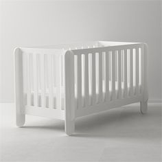 @Rosenberry Rooms is offering $20 OFF your purchase! Share the news and save! Elephant Crib in White #rosenberryrooms