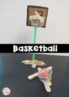 Here's a fabulous STEM Challenge featuring basketball and a way to throw the ball!