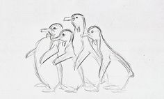 • disney animation concept art Mary Poppins 2D Character Design milt kahl nine old men Frank Thomas animationtidbits •