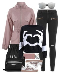 """""""Campus Chic: First Day of School"""" by beebeely-look ❤ liked on Polyvore featuring Paige Denim, Dolce&Gabbana, Ted Baker, L. Erickson, BackToSchool, outfit, sammydress, schooloutfit and back2school"""