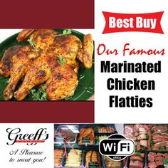 BEST BUY at Greeffs Butchery & Cafe: Our Famous Marinated Chicken Flatties #butchery