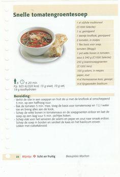 snelle tomatengroentesoep