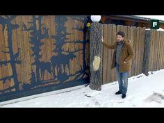 Оригинальный бюджетный забор, который смотрится дорого // FORUMHOUSE - YouTube