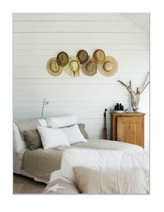 Decorar paredes con sombreros | Decoración Hogar, Ideas y Cosas Bonitas para Decorar el Hogar