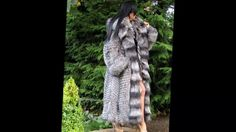 Woman In Silver Fox Fur Part 9