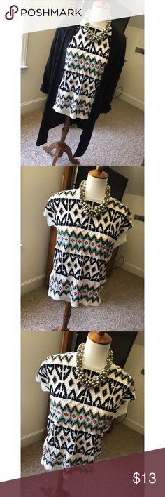 Zara Trafaluc blouse - Size M - I don't trade or sell outside of posh. - I ship every single day!  - All items come from a smoke free home!  - If you have anymore questions just let me know and I would be happy to help! 🙂 Zara Tops Blouses