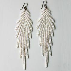 antique lace earrings