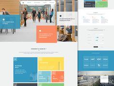Exploration UI designed by Barthelemy Chalvet for AgenceMe. Connect with them on Dribbble; Web Ui Design, Flat Design, Application Development, Software Development, Data Dashboard, Post Free Ads, Exploration, Web Inspiration, Drupal