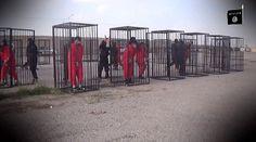 Νέο βίντεο φρίκης με την περιφορά 21 αιχμαλώτων από τους τζιχαντιστές