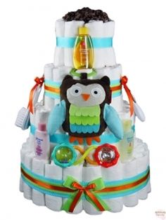 Diaper Cakes for Unknown Genders