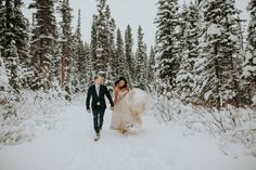 A sweet and personal winter elopement at Storm Mountain Lodge in Banff! Winter Mountain Wedding, Snowy Wedding, Wedding Bride, Wedding Rentals, Wedding Catering, Wedding Vendors, Weddings, Winter Wedding Ceremonies, Vendor Events