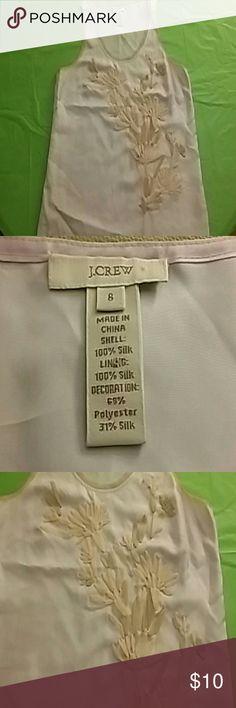 996d41ea0cc643 J.Crew Blush embellished silk cami