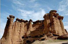 Behestan rock castle- Zanjan Province (Iran)