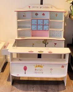Kaufladen weiss rosa Shabby Chic so süss♥ von Domis Pusteblume auf DaWanda.com