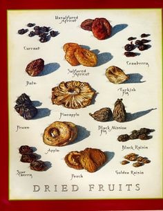 Dried Fruits - Cook's Illustrated