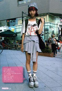 FRUiTS Japanese Magazine