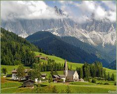 Val di Funi, The Dolomites, Italy  photo via transylvania