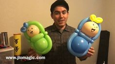 Balloon baby - tutorial