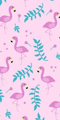 Pin de ariana taylor em wallpapers em 2019 милые обои, обои для iphone e об Flamingo Wallpaper, Summer Wallpaper, Cute Wallpaper Backgrounds, Wallpaper Iphone Cute, Pink Wallpaper, Colorful Wallpaper, Disney Wallpaper, Pattern Wallpaper, Cute Wallpapers