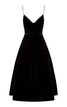 Alex Perry Mila Velvet Midi Dress In Black Trendy Dresses, Elegant Dresses, Fashion Dresses, Maxi Dresses, Women's Fashion, Alex Perry, Velvet Midi Dress, Black Velvet Dress, Black Midi Dress