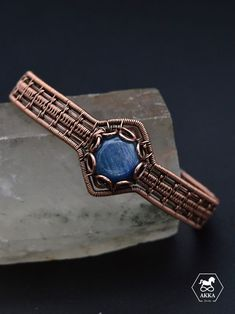 Copper Bracelet, Bracelet Clasps, Copper Jewelry, Cuff Bracelets, Hand Shapes, Bracelets For Men, Wire Wrapping, Fashion Accessories, Gemstones