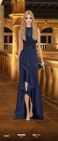 Lovely Dresses, Elegant Dresses, Beautiful Outfits, Formal Dresses, Covet Fashion, Womens Fashion, Fashion Design, Couture Dresses, Fashion Dresses