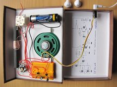 Langwelle Electronics Projects, Tv, Radios, Electric, Nice, Recipes, Vintage, Electronics Gadgets, Circuits