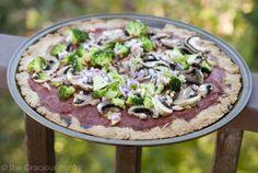 Clean Eating Grain Free Thin Crust Pizza Dough