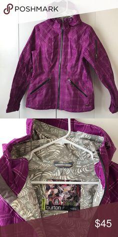 5872f9df6b Burton Ski Jacket Shell - women s Used once. Burton Jackets   Coats Burton  Ski Jackets