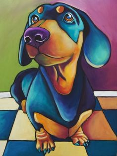 Fine Art and You: Colorful Animal Paintings by Shauna Morrissey!