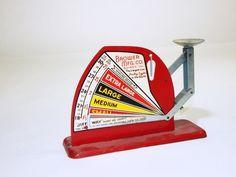 Vintage 1950s Jiffy Way Egg Scale. #EBTH