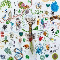 Yugen series #3 Series 4, Artwork, Mixed Media, Painting, Work Of Art, Painting Art, Mixed Media Art, Paintings, Painted Canvas