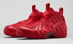 NIKE AIR FOAMPOSITE PRO 'GYM RED'