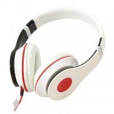 OMEGA FREESTYLE CASCO + MIC HI-FI FH4005W BLANCO Beats Headphones, Over Ear Headphones, Omega, Ear Phones