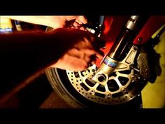 HOW TO: Change the brake pads on your Ducati 999 sportbike - YouTube
