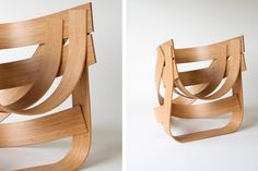 Tejo Remy and Rene Veenhuizen Build a Nest Chair Out of Bamboo