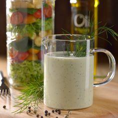 Oli va con todo | Receta de vinagreta cremosa de pepino y Eneldo con Oli de Nutrioli