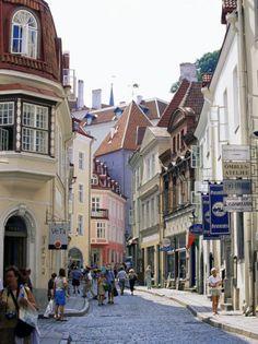 Pikk-Street-Old-Town-Tallinn-Estonia