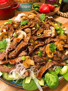 Linda McCartney's and Somi Igbene Kung Pao Vegetarian Pulled Pork Veggie Recipes, Asian Recipes, Beef Recipes, Cooking Recipes, Healthy Recipes, Ethnic Recipes, Veggie Food, Delicious Recipes, Recipies