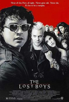 The lost boys movie t shirts. The lost boys shirt featuring your favorite vampires on. This the lost boys cult horror vampires movie quote. Lost Boys Movie, The Lost Boys 1987, Love Movie, Movie Tv, Lost Boys Soundtrack, Crazy Movie, Movie Cast, Scary Movies, Great Movies