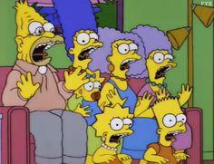 The Simpsons: Deep Space Homer Simpsons Episodes, Simpsons Cartoon, Goat Cartoon, Cartoon Gifs, Cartoon Network Adventure Time, Adventure Time Anime, Far Side Comics, Homer Simpson, Movies