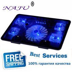 $29.70 (Buy here: https://alitems.com/g/1e8d114494ebda23ff8b16525dc3e8/?i=5&ulp=https%3A%2F%2Fwww.aliexpress.com%2Fitem%2FSuper-Mute-5-Fans-Laptop-Cooler-Notebook-Cooling-Rack-Cumputer-Fan-Base-Plate-Laptop-Cooling-Base%2F1890988435.html ) NA JU Brand 5 Fan 2 USB Laptop Cooler Cooling Pad Base LED Notebook Cooler Computer USB Fan Stand For Laptop PC Video 10-17 for just $29.70