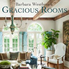 It's almost time for the Barbara Westbrook book signing @shopsummerhouse. Can't wait to meet this talented designer, visit with our friends at summerhouse and grab a treat from La Brioche. 3-6 today only. #seeyouthere #graciousrooms