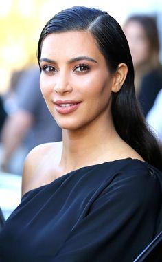 We're loving Kim Kardashian's flawless makeup!
