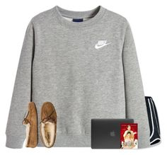 """"""""""" by jasietote ❤ liked on Polyvore featuring NIKE, UGG Australia and Incase"""
